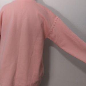 GreenTea Sweaters - NWT Oversized Rose All Day Wine Graphic Sweatshirt